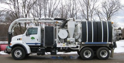 Camel Sewer Vac and Jetter Truck
