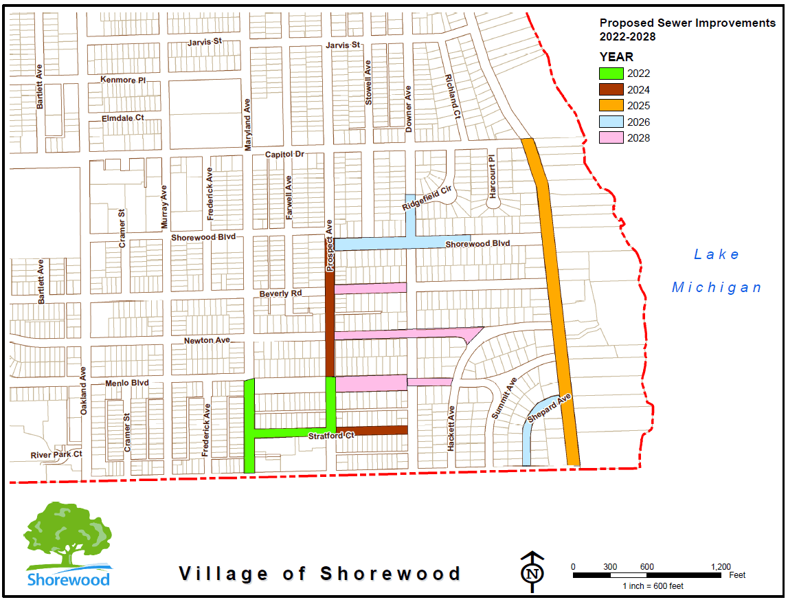 final proposed sewer improvements 2022-2028