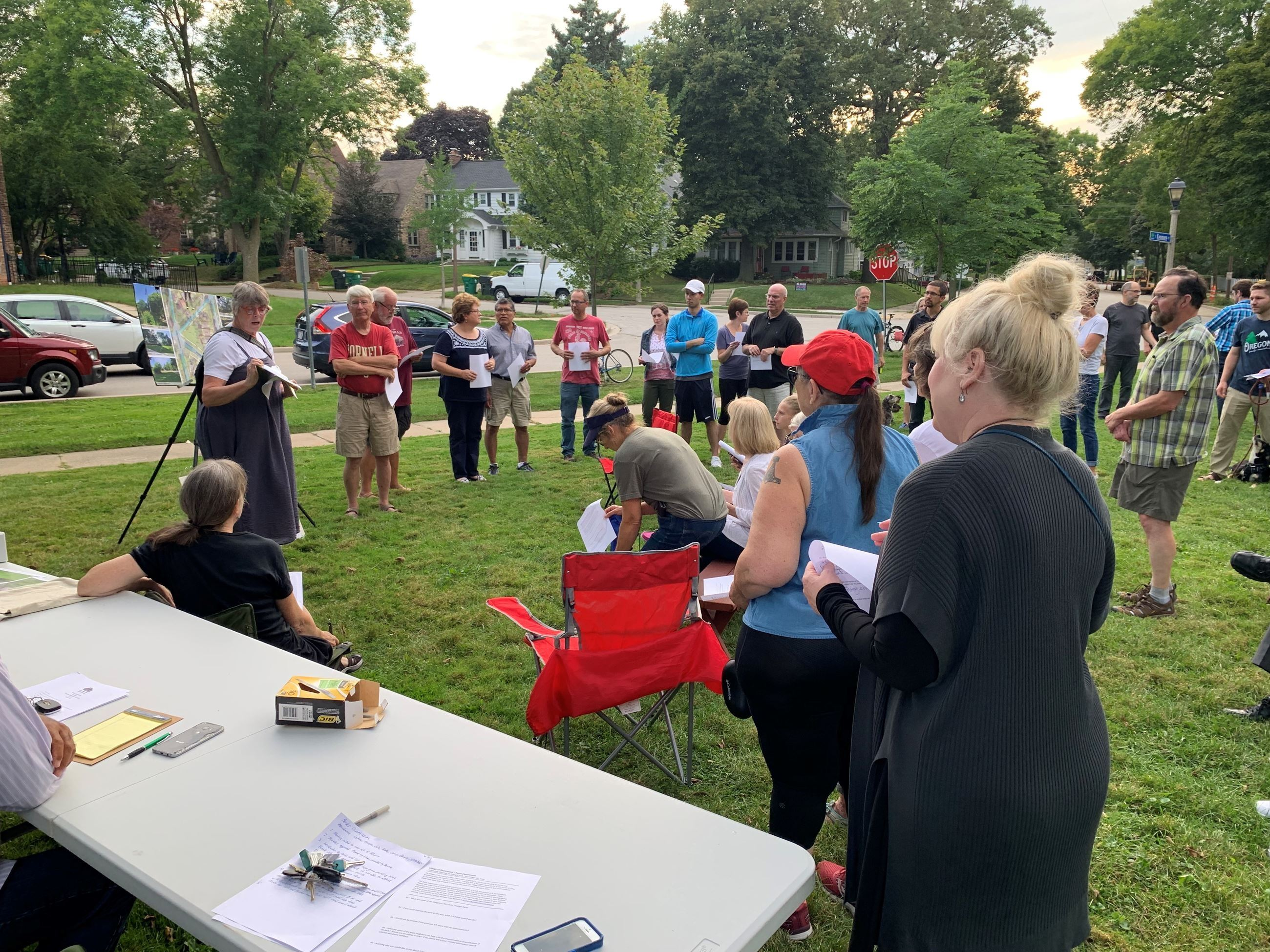 Triangle Park Community Meeting